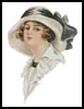 Victorian Lady 4 - Cross Stitch Chart
