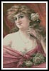 Victorian Pink Lady - Cross Stitch Chart