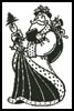 Victorian Santa 2 - Cross Stitch Chart
