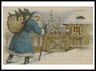 Victorian Santa 1 - Cross Stitch Chart