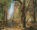 View in Yosemite Valley - Cross Stitch Chart