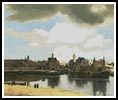 View of Delft - Cross Stitch Chart