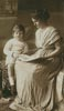 Vintage Mother and Son - Cross Stitch Chart