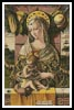 Virgin and Child - Cross Stitch Chart