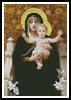 Virgin of the Lilies - Cross Stitch Chart