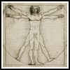 Vitruvian Man - Cross Stitch Chart