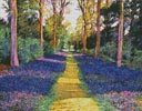 Walk through Blue - Cross Stitch Chart