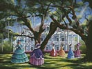 Wartime Gathering - Cross Stitch Chart