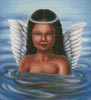 Water Angel - Cross Stitch Chart