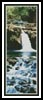 Waterfalls Bookmark - Cross Stitch Chart