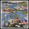 Waterlilies - Cross Stitch Chart