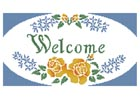 Welcome Sign - Cross Stitch Chart