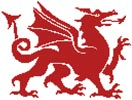 Welsh Dragon - Cross Stitch Chart