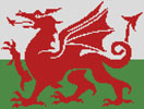 Welsh Flag - Cross Stitch Chart