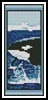 Whale Bookmark - Cross Stitch Chart