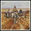 When the plains were his - Cross Stitch Chart
