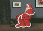 Whistler's Father Christmas - Cross Stitch Chart