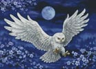 White Owl - Cross Stitch Chart