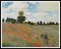 Wild Poppies near Argenteuil (Large) - Cross Stitch Chart