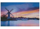 Windmill at Dawn - Cross Stitch Chart