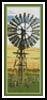 Windmill Bookmark - Cross Stitch Chart