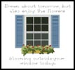 Window Box - Cross Stitch Chart