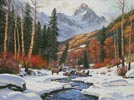 Winter Blanket - Cross Stitch Chart