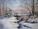 Winter Bridge - Cross Stitch Chart