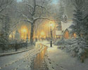 Winter Chapel - Cross Stitch Chart