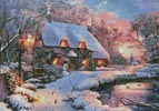 Winter Cottage - Cross Stitch Chart
