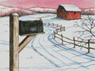 Winter Delivery - Cross Stitch Chart