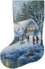 Winter Frolic Stocking (Left) - Cross Stitch Chart