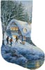 Winter Frolic Stocking (Right) - Cross Stitch Chart