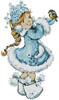 Winter Girl - Cross Stitch Chart