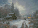 Winter Homeplace (Large) - Cross Stitch Chart