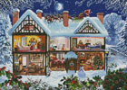 Winter House (Large) - Cross Stitch Chart