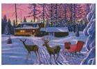Winter in Running Springs - Cross Stitch Chart