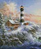 Winter Majesty (Crop) - Cross Stitch Chart