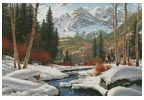 Winter Retreat - Cross Stitch Chart