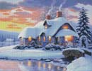Winter Serenity - Cross Stitch Chart