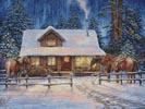 Winter's Oasis - Cross Stitch Chart