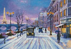 Wintertime in Paris - Cross Stitch Chart