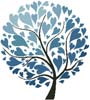 Winter Tree of Hearts - Cross Stitch Chart