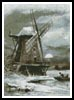 Winter Windmill - Cross Stitch Chart