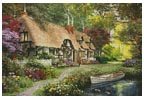 Woodland Walk Cottage - Cross Stitch Chart