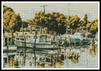 Wynnum Moorings - Cross Stitch Chart
