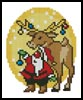 Xmas Card 1 - Cross Stitch Chart