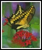 Yellow Butterfly - Cross Stitch Chart