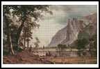 Yosemite Valley - Cross Stitch Chart