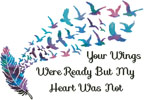 Your Wings (Watercolour 2) - Cross Stitch Chart